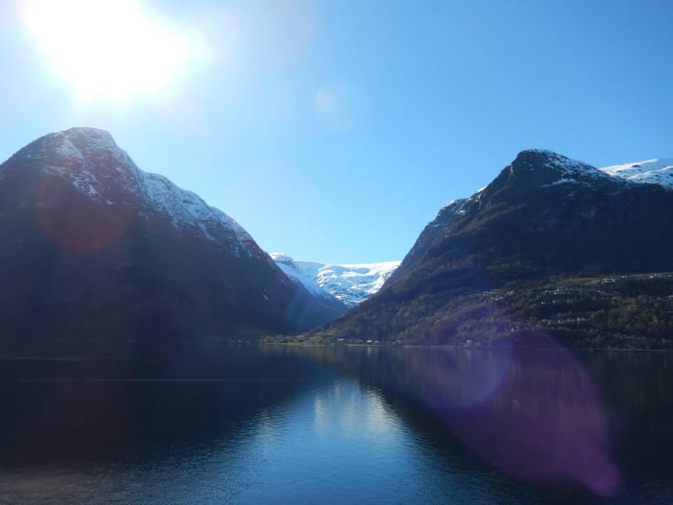 Sur la route vers Bergen / Photo : Aurore Nonnenbruk