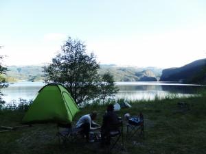 Camping en chemin